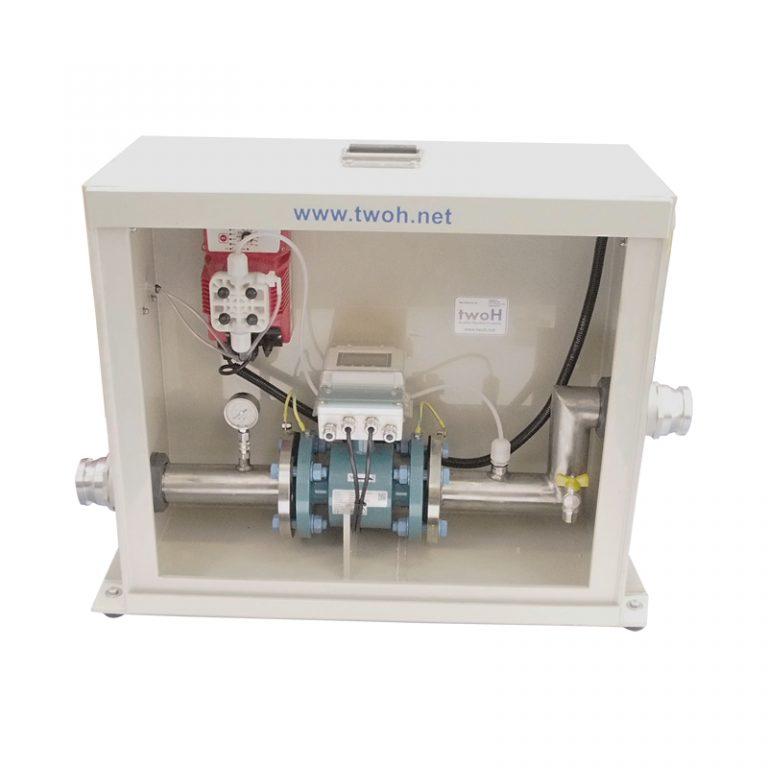 Chlorination and Dechlorination Flow Proportional Unit
