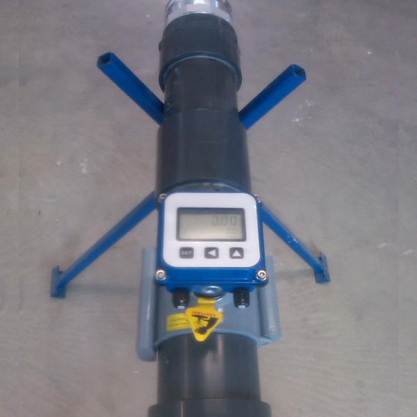 "4"" PVC Site Flowmeter"