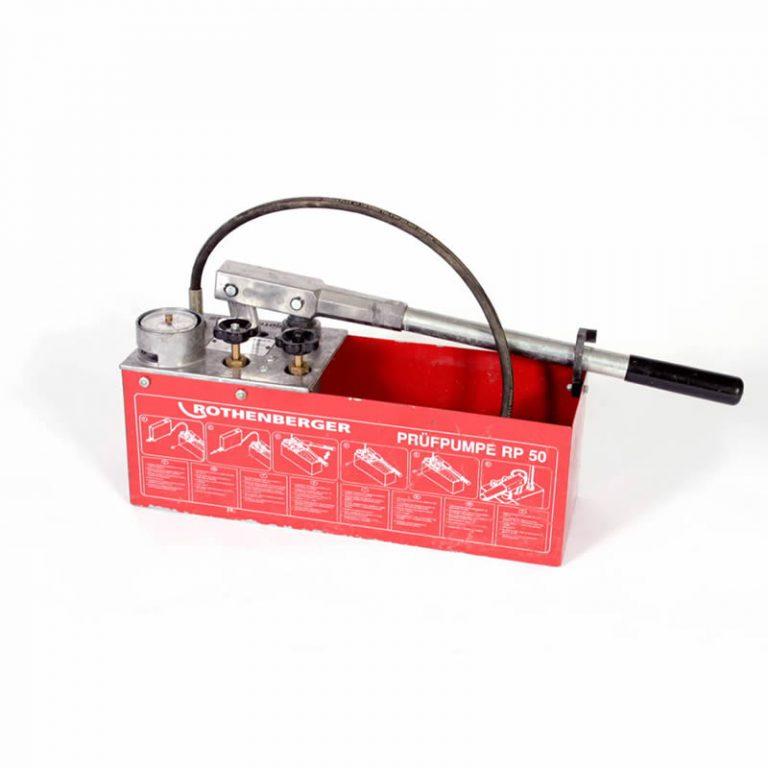 Rothenberger Hand Test Pump